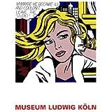 Reproduction d'art 'M-Maybe, 1965', de Roy Lichtenstein, Taille: 60 x 80 cm