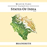 Brainsmith States Of India Set III Quantum Cards - Flashcards For Kids - Brain Stimulation Cards - Encyclopaedic Flashcards - Early Learning Flashcards - Return Gifts For Kids - Birthday Gifts