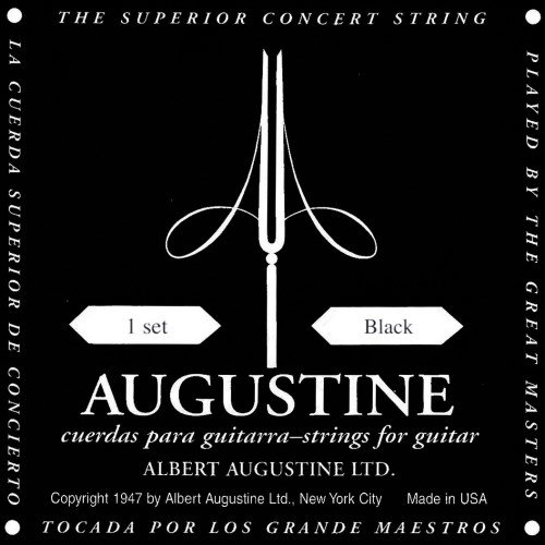 augustine-black-label-classical-guitar-strings-complete-set