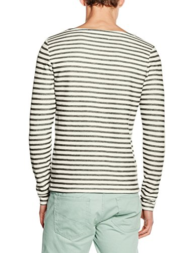 JACK & JONES Herren Sweatshirt Jorhamilton Sweat Crew Neck Mehrfarbig (Raven Fit:SLIM)