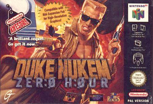 Duke nukem Zero hour - Nintendo 64 - PAL