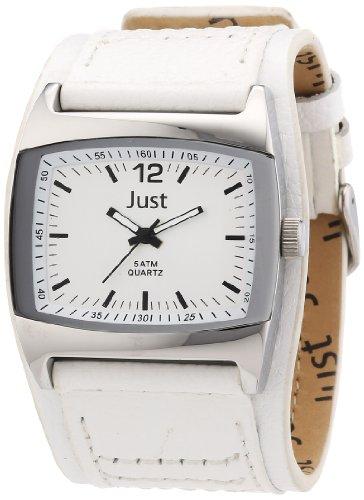 Just Watches 48-S10628-WH - Orologio da polso, uomo, pelle