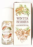 Winter Berries Oil 10ml Fragrance Scent Home Christmas Spice Festive Aroma Burner Candle Potpourri Diffuser