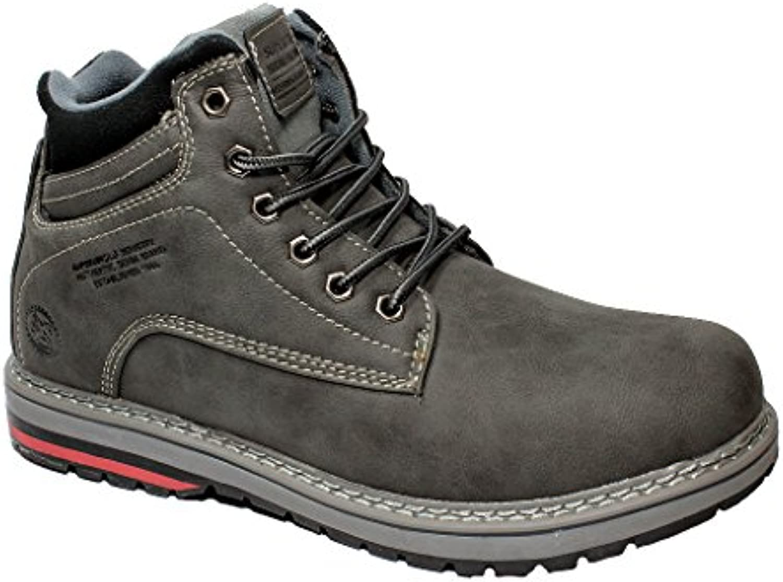 SUPERUN Herren Schuhe Boots Winterstiefel Winterschuhe Wanderschuhe Gefuumlttert 41 46