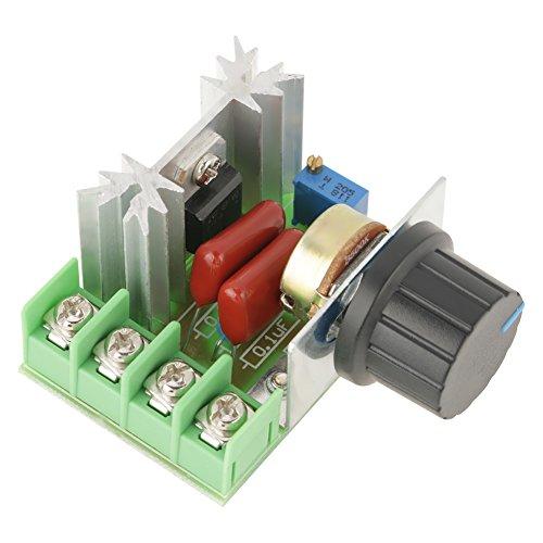 AC 50-220 V 25A 2000 Watt Motor Drehzahlregler Spannungsregler LED Dimmer -