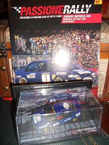 Subaru Impreza 555 Memorial Bettega 1993 McRae DIE CAST 1:43 +fas Passione Rally