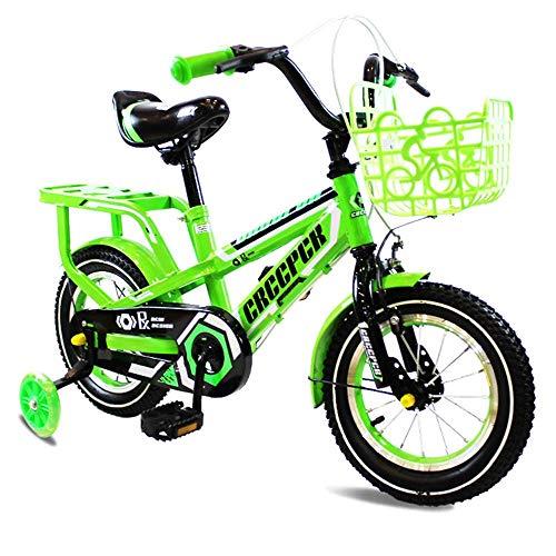 LQZHP Kinderfahrrad 12/16 Baby leuchtende Kinderwagen Männer und Frauen Kinder Pedal Geschenke Mountainbike S