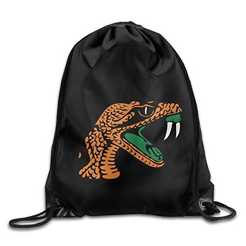 Baylor Universität Leichtathletik Sport Kordelzug Rucksack Sack Tasche, Florida A&M Rattlers Lady Rattlers (Kordelzug Zustand)