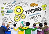 druck-shop24 Wunschmotiv: Teamwork Team Together Collaboration Diversity People Concept #78686243 - Bild als Foto-Poster - 3:2-60 x 40 cm/40 x 60 cm