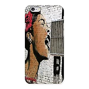Singing Girl Back Case Cover for iPhone 6 6S