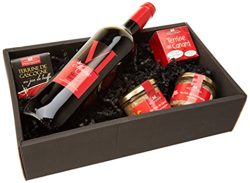 Ducs de Gascogne -'En rouge et noir' - comprend 4 terrines...