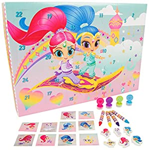 Shimmer And Shine SHI1-6710 - Calendario de Adviento 2018