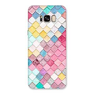 Neo World Color Rocks Back Case Cover for Galaxy S8 Plus