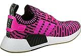 adidas NMD_R2 PK, Chaussures de Fitness Homme, Multicolore Rosimp/Negbas, 40 EU