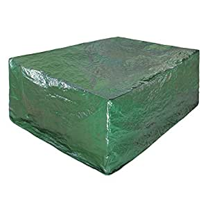 Savisto 2780 x 2040 x 1060mm Large Rectangular All Weather Patio/Garden Outdoor Furniture Cover