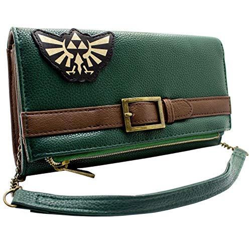 Cartera Legend of Zelda Túnica lo Salvaje Verde