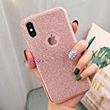 Loxxo® Presents Case for Apple iPhone X/10 Full Glitter Skin Soft Silicone Slim
