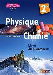 E.S.P.A.C.E. 2de * Livre du professeur (éd. 2010)