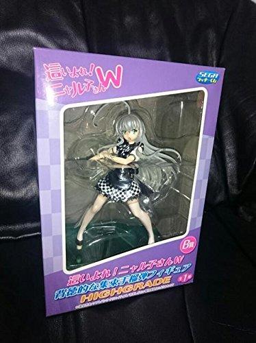 """Voir le produit Haiyore! W prime le chiffre d'Nyaruko de """"Les vetements unis Ver."""" Anime blanc noir cheque Jolie prix Sega"""