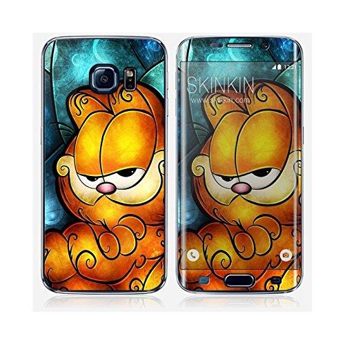 Coque iPhone 5 et 5S de chez Skinkin - Design original : Garfield par Mandie Manzano Skin Samsung Galaxy S6 Edge