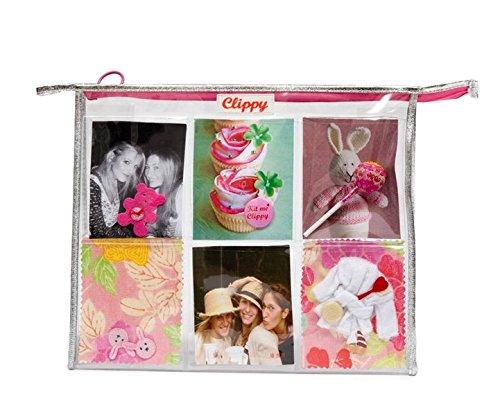 Clippy Jumbo Washbag - XXL Toilettentasche: Tasche mit 12 Fotofächern - Zubehör Christian Handtaschen