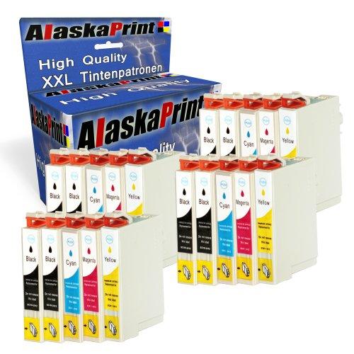 20x Druckerpatronen Kompatibel für Epson T1281xl T1281 xl T1285 für Epson Stylus SX-235W SX-130 SX-435W SX-420W Series SX-125 SX-430W SX-425W SX-440W SX-440 SX-445W S-22 SX-230 SX-438 Epson Stylus Office BX-305F BX-305FW Plus BX-306FW Drucker Tinte Patronen Tintenpatronen
