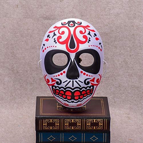 aske bemalt Peking Opera Maske FullFace Party Erwachsene Kinder Terror wunderschöne Lieferungen Ghost Masquerade Day Dead, MaskA ()