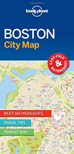 lonely-planet-boston-city-map-travel-guide