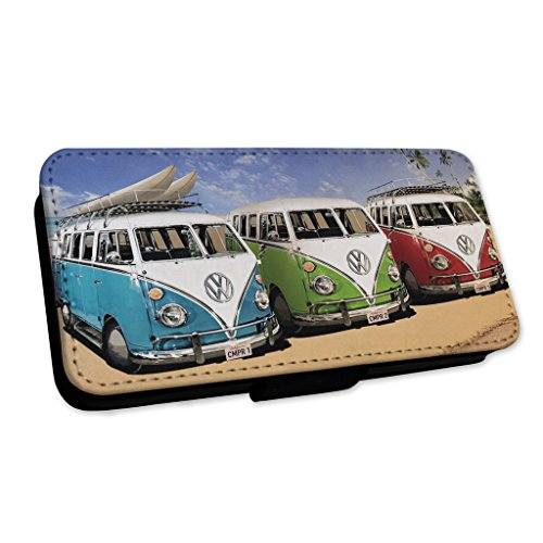 Retro camper surf Life–Custodia ad aletta in pelle copertura di carta Apple iPhone 6/6S