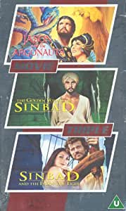Jason And The Argonauts / The Golden Voyage Of Sinbad / Sinbad And The Eye Of The Tiger [DVD] [VHS]