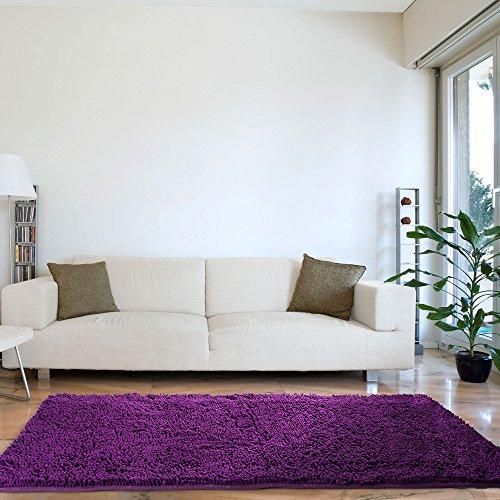 Lavish Home Hochflor Teppich Shag Rug 30 X 60-Inch violett - Purple Shag Teppich