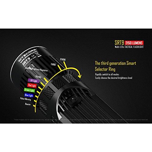 Nitecore SRT9 Taktische Taschenlampe - 5