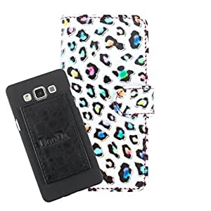 DooDa PU Leather Wallet Flip Case Cover With Card & ID Slots For Lava Xolo A800