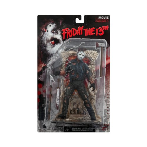 McFarlane Toys Movie Maniacs Series 1 Action Figure Jason Voorhees Friday The 13th by Movie Maniacs