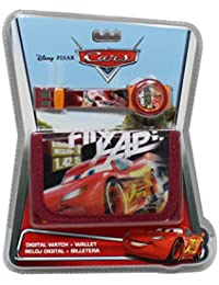 Kinder-Armbanduhr, Motiv: Cars Disney Flash Mac Queen