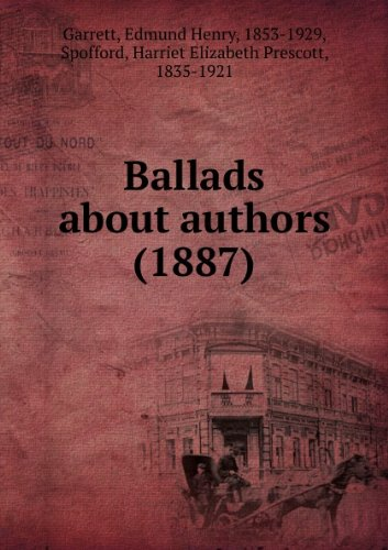 Ballads about authors (1887)