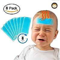 8x Kühlpflaster, Kältepflaster & Cool Patches bei Migräne, Kopfschmerzen, Fieber und gegen Schmerzen – Kühlgel... preisvergleich bei billige-tabletten.eu