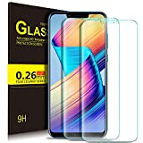 KuGi Honor Play Protection Ecran,Honor Play Ultra Résistant Film Protection écran Glass [Dureté 9H] Screen Protector pour Honor Play(Pack de 2)