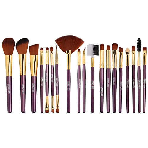POachers Kit de 19 Pinceaux Maquillage - Brosse de Maquillage/Beauté & Make-up Brush Cosmétique Make Up Brush Pinceau cosmétique de qualité Professionnel