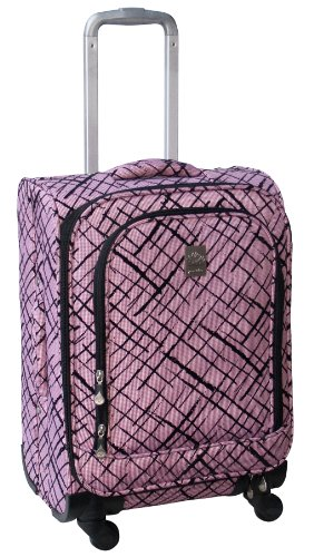 jenni-chan-brush-strokes-360-quattro-21-inch-luggage-red-one-size