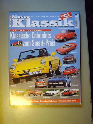Motor-Klassik 5/2003,Alfa Roeo Spider,Porsche 944 S2 Cabrio,Mazda MX-5,Ford Mustang Mach I 351,Ford Taunus 2300 GXL CoupeFord 17 M P 2 & P 3,Matra,Lea-Francis 2,5 Litre Sport,Volvo PV 544 (2300 Spider)