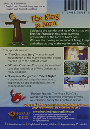 Brother Francis O Holy Night The King is Born - Catholic Churches Childrens  Songs - Catholic Bible