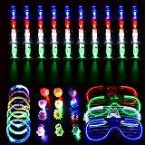 SanGlory 62 Pcs LED Spielwaren Party Zubehör Mitgebsel...