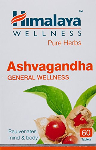 Himalaya Wellness Pure Herbs Ashvagandha General Wellness – 60 Tablet