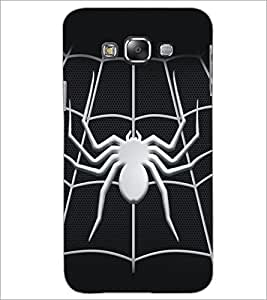 PrintDhaba Spider D-5161 Back Case Cover for SAMSUNG GALAXY A7 (Multi-Coloured)