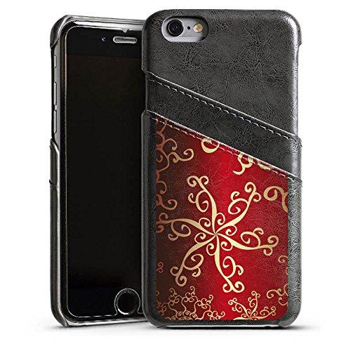 Apple iPhone 4 Housse Étui Silicone Coque Protection Motif Motif Orient Étui en cuir gris