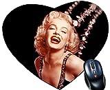 Kdomania Tapis de souris Coeur Marilyn Monroe