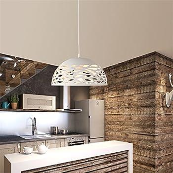 Lampadario in vetro moderno minimalista luci ristorante for Lampadari x cucina moderna