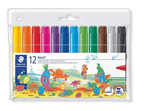 Staedtler Noris Club 340 WP12. Rotuladores colores