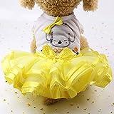 Fantasyworld Art und Weise Nette Hundehochzeitskleid Rock-Sommer-Luxus-Prinzessin Hunde Shirts Frucht-Entwurfs-Hundegeschirr Kleid Haustier-Kleidung